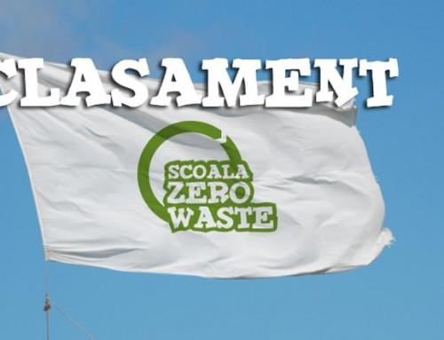 """Clasament intermediar """"Scoala Zero Waste"""" 2014"""