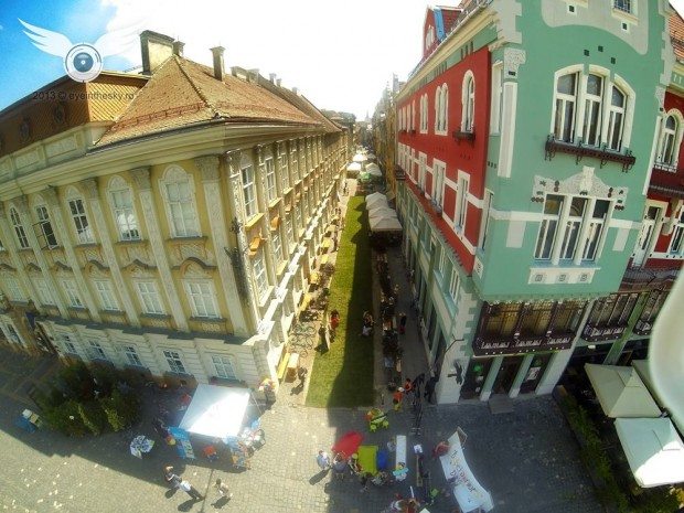 street delivery timisoara aerial