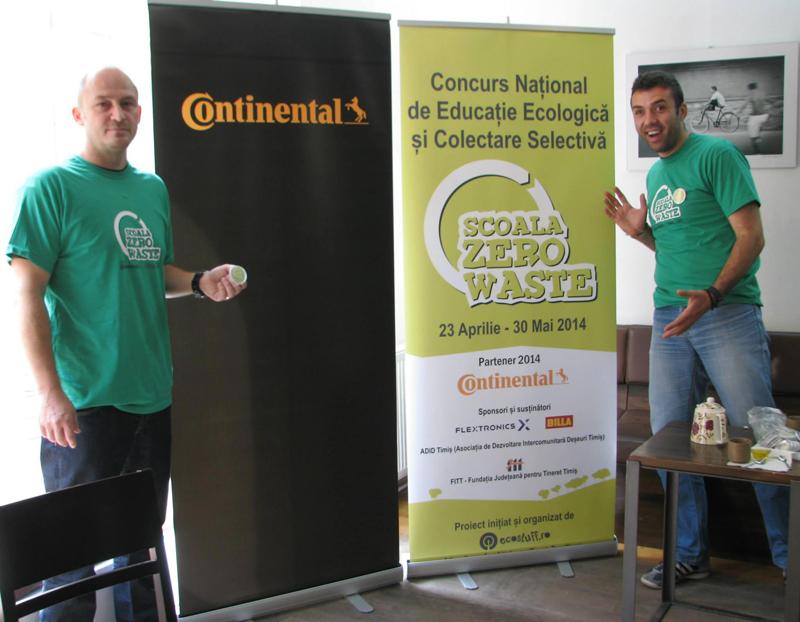 continental partener scoala zero waste 2014