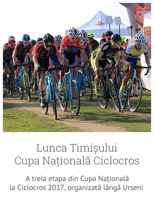 Lunca Timisului - Cupa Nationala la Ciclocros