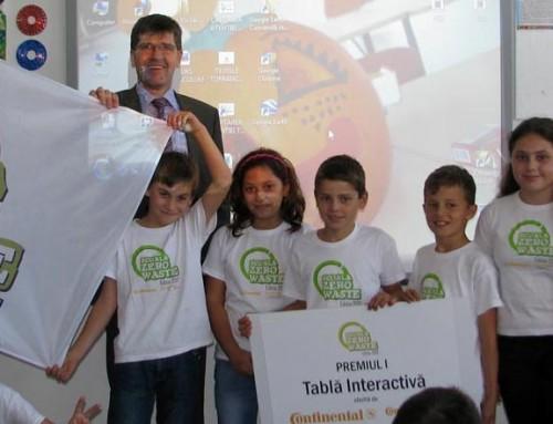 """Începem pregătirea ediției 2014 a concursului """"Școala Zero Waste"""""""
