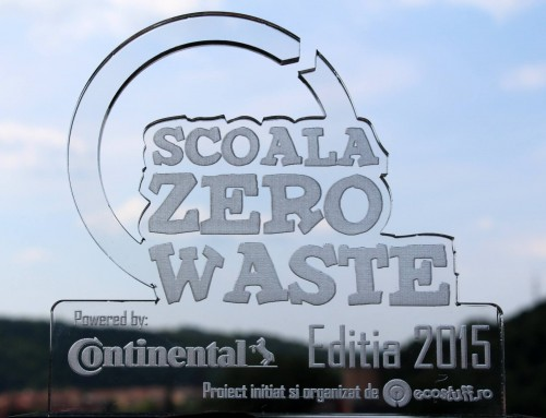 Trofeul Scoala Zero Waste Editia 2015 a ajuns La Rosiorii de Vede
